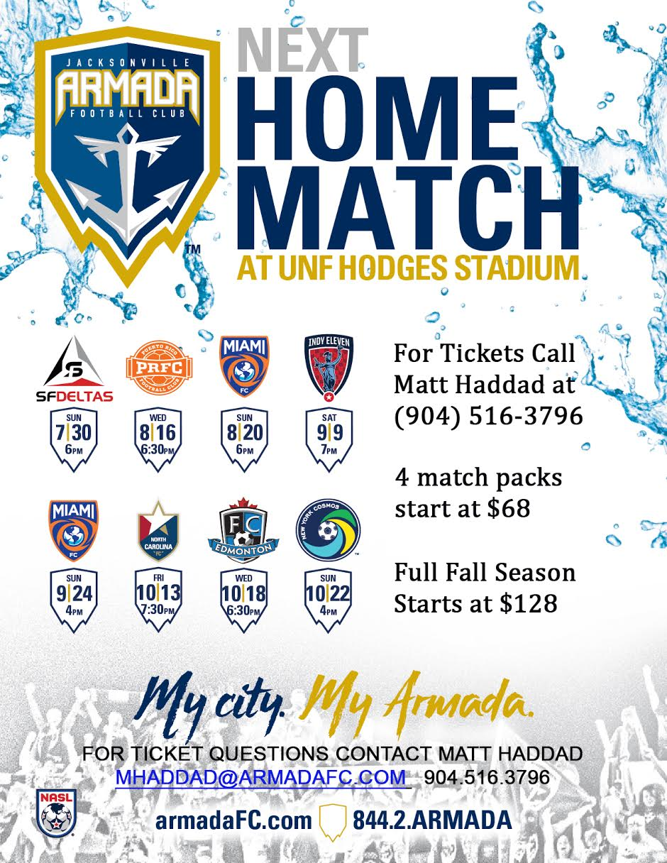 Armada FC Fall Season Kick Off
