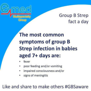 Signs and Symptoms of Group B Strep
